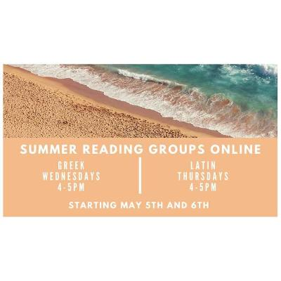 Summer Greek and Latin Online!